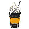 To show how the best Café on Capitol Hill Corner serves frappes.